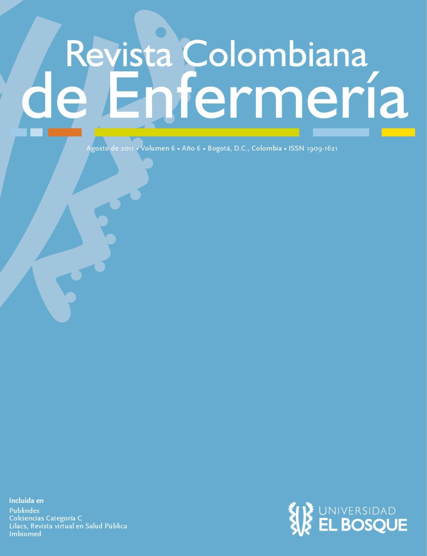 Revista Colombiana de Enfermería No.6 Vol. 6 by Universidad El ...