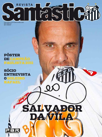 c1e13b529a PUBLICAÇÃO OFICIAL DO SANTOS FUTEBOL CLUBE MAIO  JUNHO 2011 ANO 1 - NÚMERO 5
