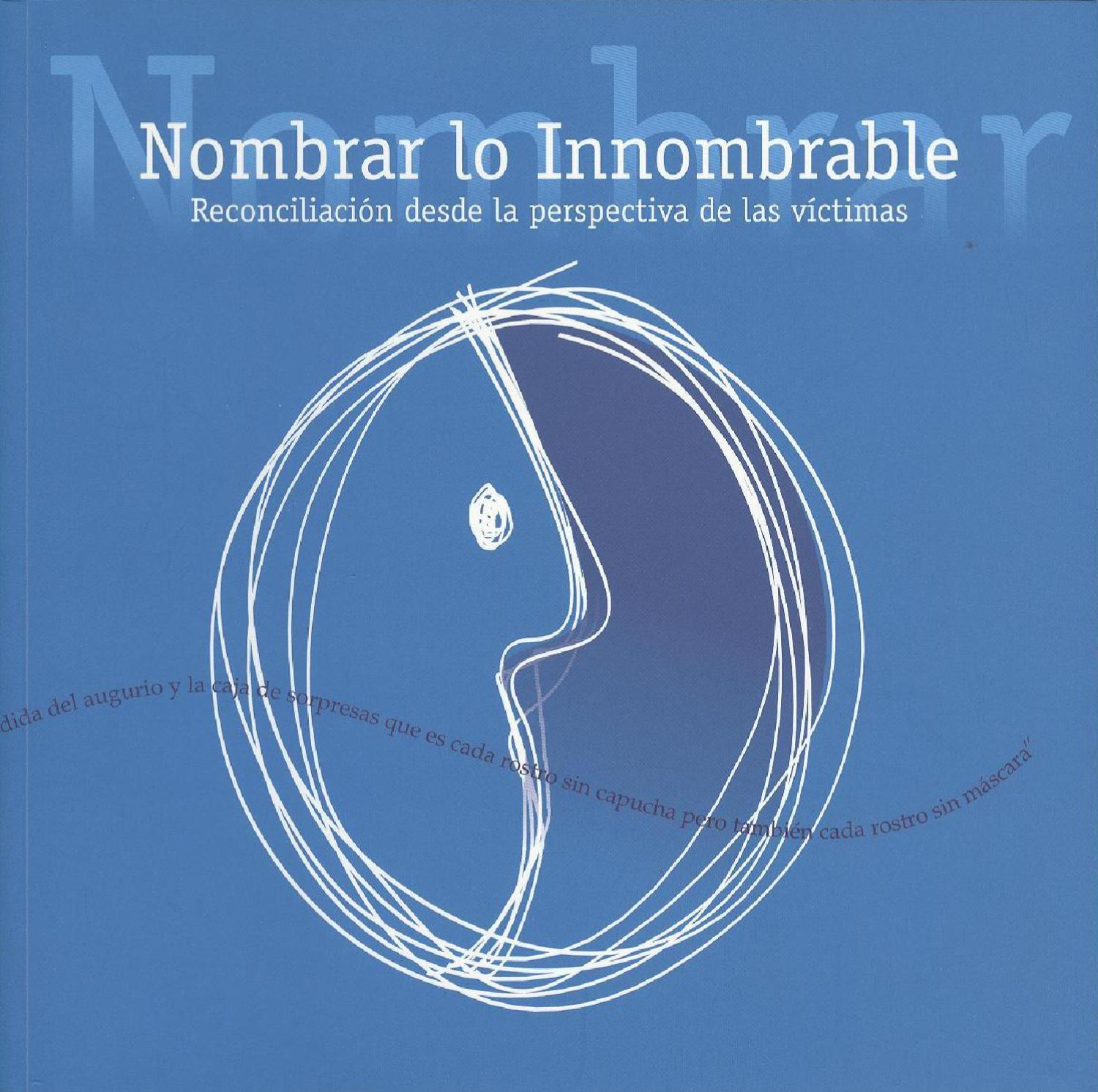 Nombrar lo innombrable by CINEP PPP - issuu