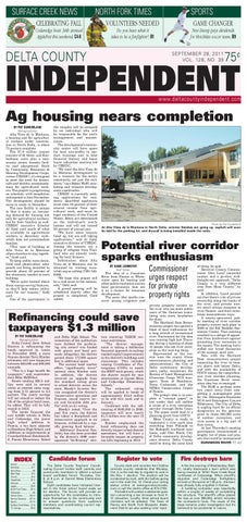 3e79a4299c0 Delta County Independent, Issue 39, Sept. 28, 2011 by Delta County ...