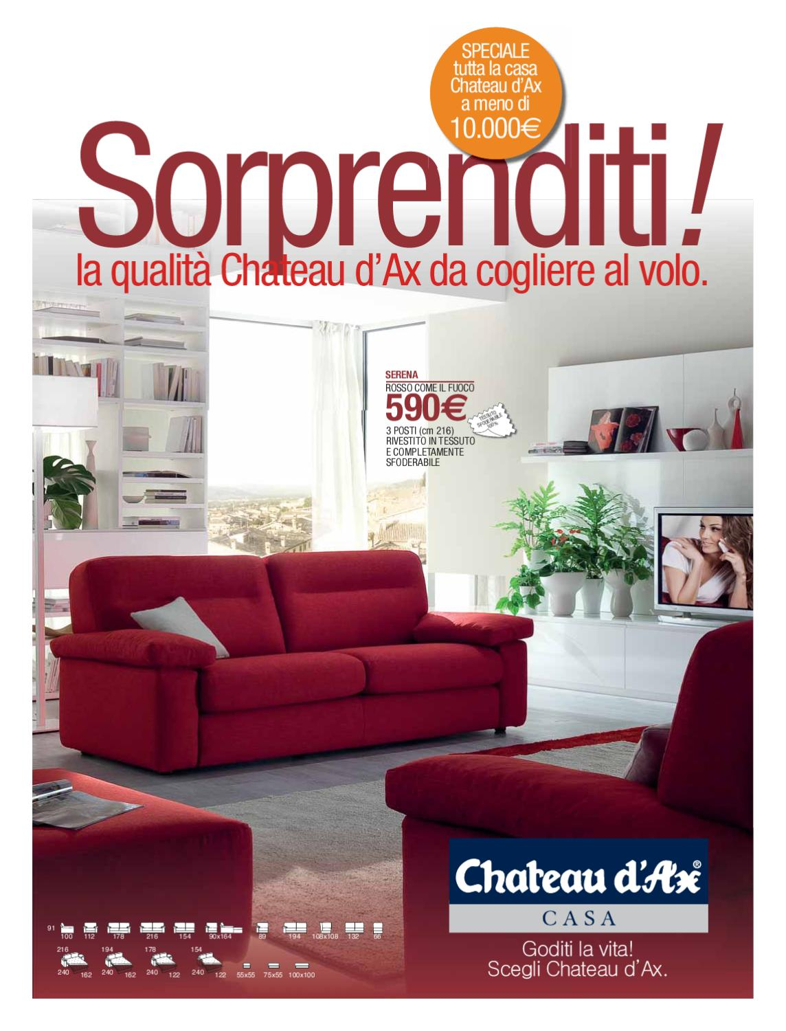 Offerte chateau by tinvention issuu for Offerte arredamento completo chateau d ax