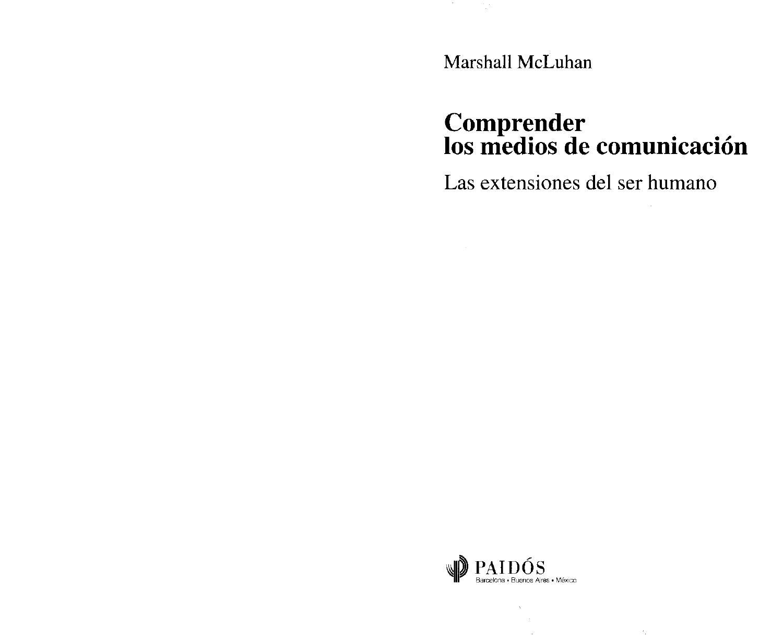 the latest a6c08 dec7e Comprender los medios de comunicación by Gabriela Ruiz - issuu