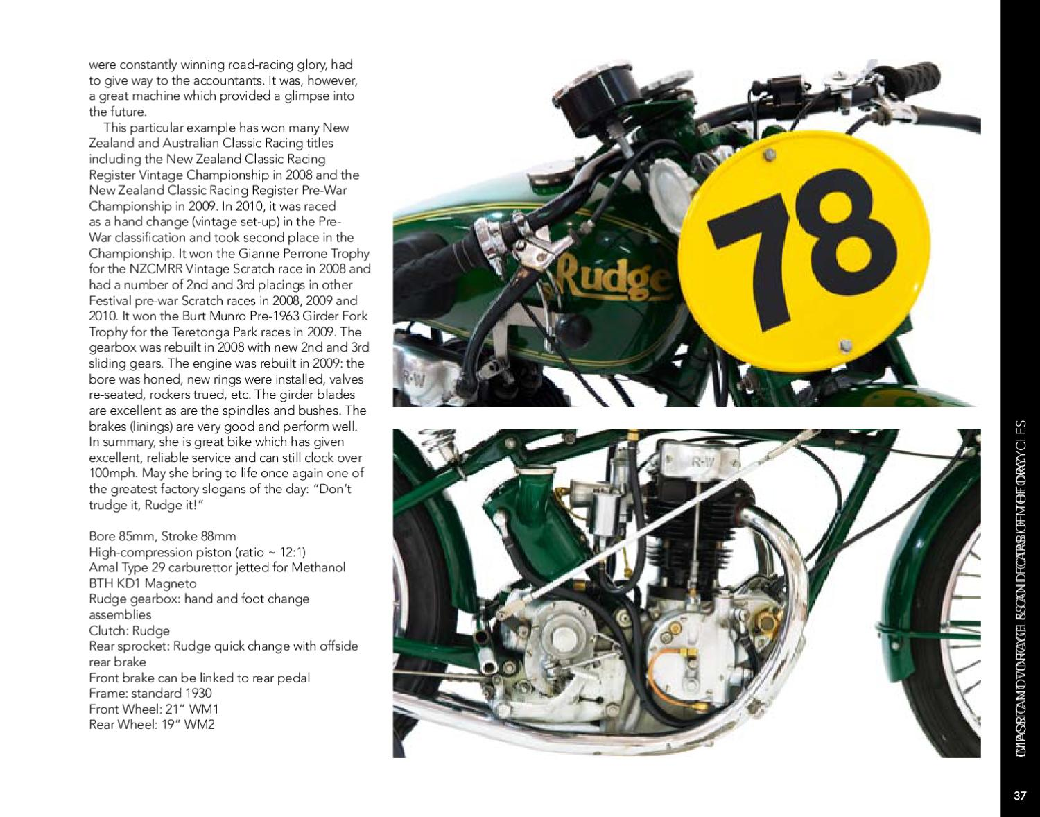 Classic Motorcycles and Cars of the Day by Webb's Auction House - issuu