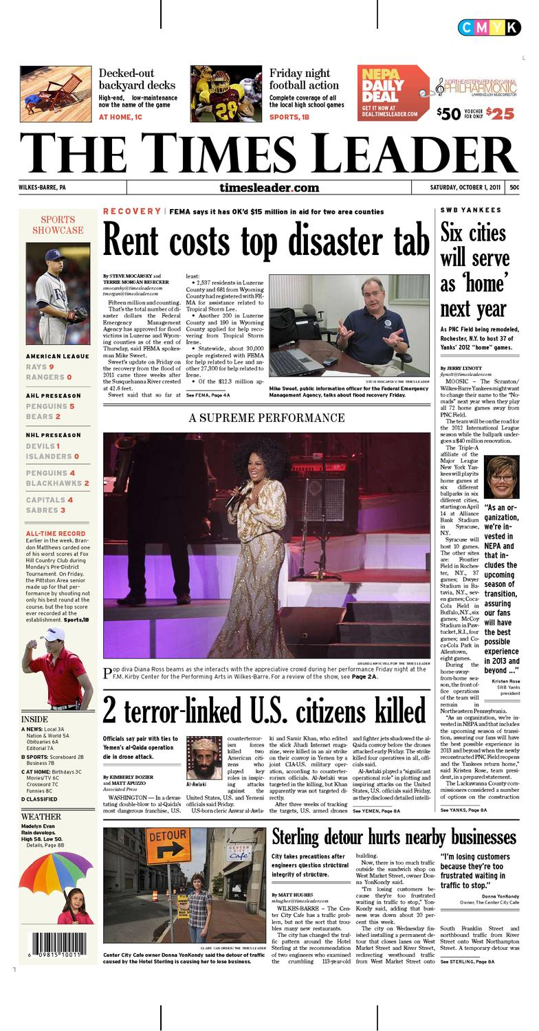 foto de Times Leader 10-01-2011 by The Wilkes-Barre Publishing Company - issuu