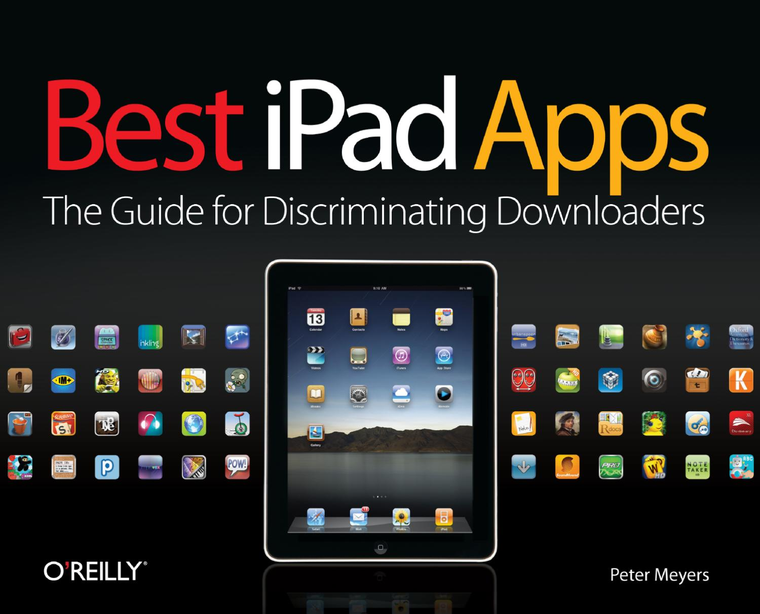 Oreilly best ipad apps by ivan chang issuu fandeluxe Image collections