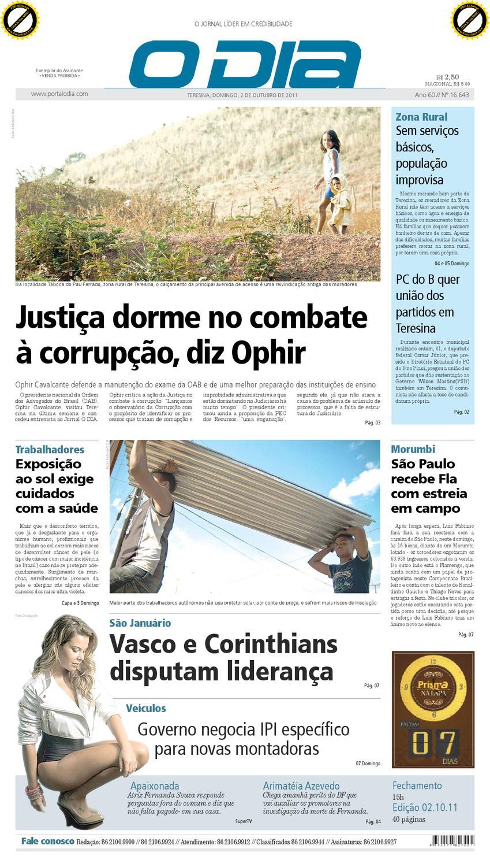 4b6b5b83583 jOrnal O DIA by Jornal O Dia - issuu