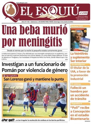 El Esquiu.com 2 de octubre de 2011 by Editorial El Esquiú - issuu 8a4f40de7cae