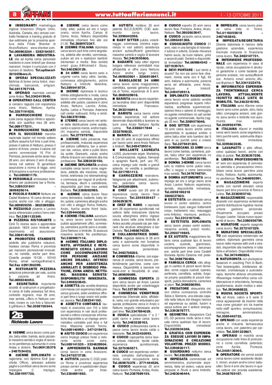 Giornale 1 15 Ottobre 2011 By Tutto Affari Issuu