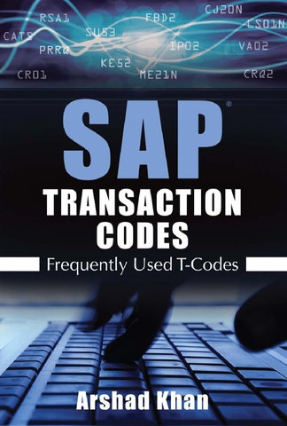 SAP Transaction Codes by Bob Sanders - issuu