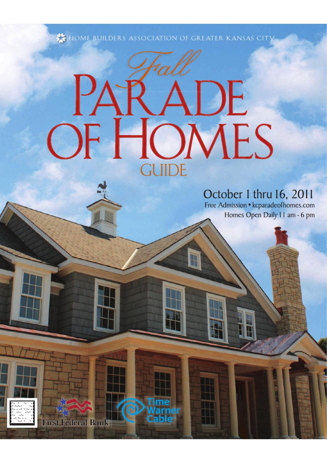 2011 Fall Parade Of Homes Guide By Home Builders