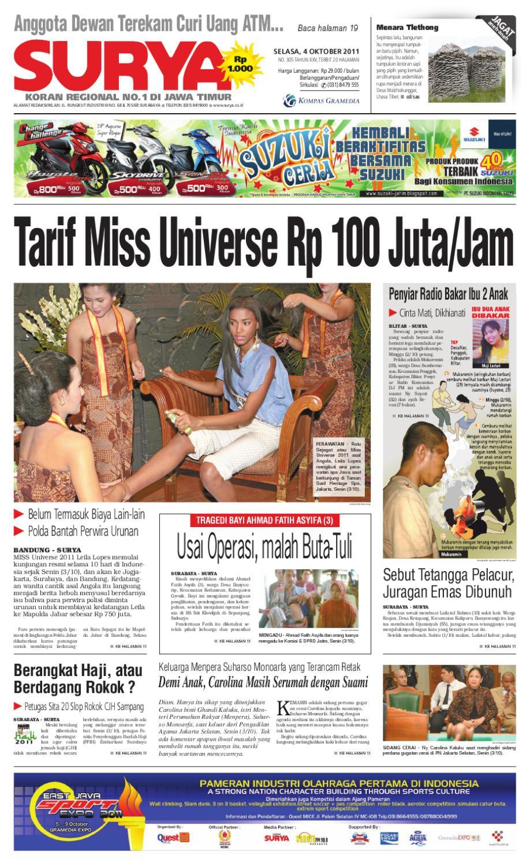 Surya Edisi 4 Oktober 2011 Produk Ukm Bumn Batik Lengan Panjang Parang Toko Ngremboko