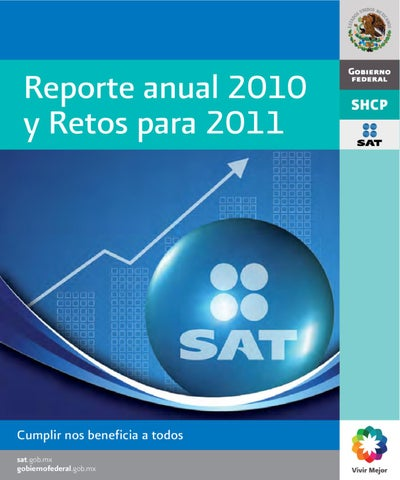 Reporte Anual 2010 By Sat Sat Issuu