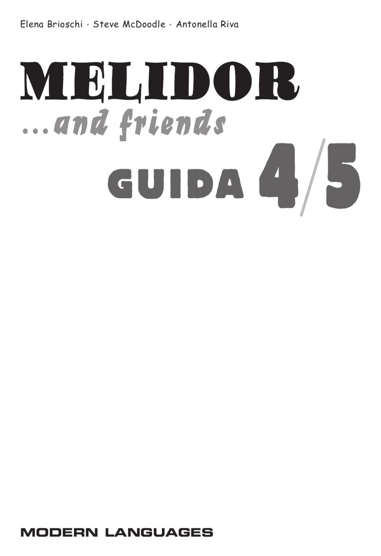 Guida Melidor And Friends 4 5 By Eli Publishing Issuu