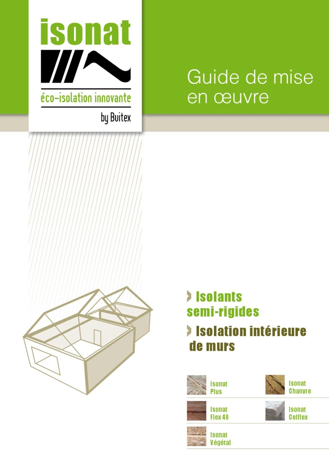 guide de pose int rieur murs by isonat issuu. Black Bedroom Furniture Sets. Home Design Ideas