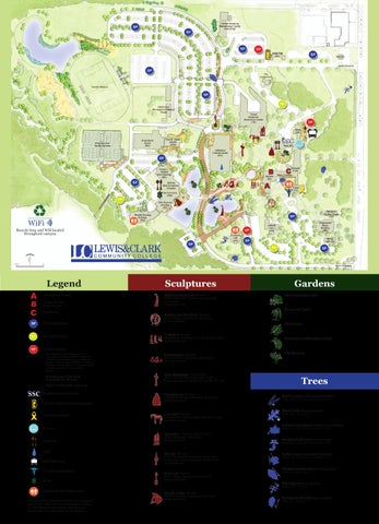 Godfrey Campus Map by Lewis and Clark Community College - issuu