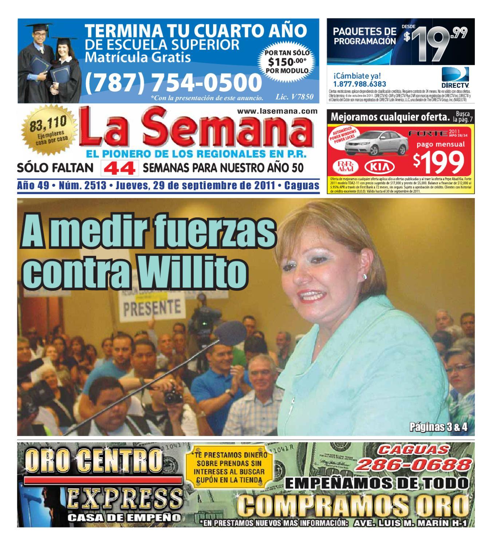 Periodico La Semana #2513 by Daniel Aranzamendi - issuu