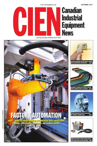 Canadian Industrial Equipment News October 2011 by Annex Business
