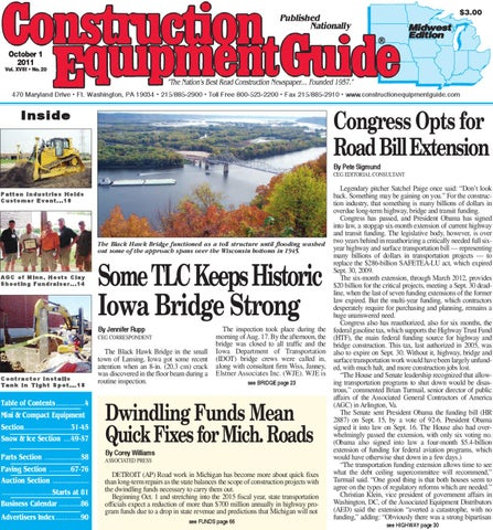Midwest #20, 2011 by Construction Equipment Guide - issuu