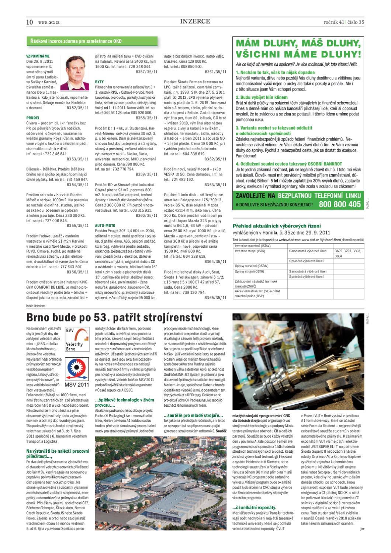 Horník č  35 ze dne 29 9 2011 by Dwp Fla - issuu