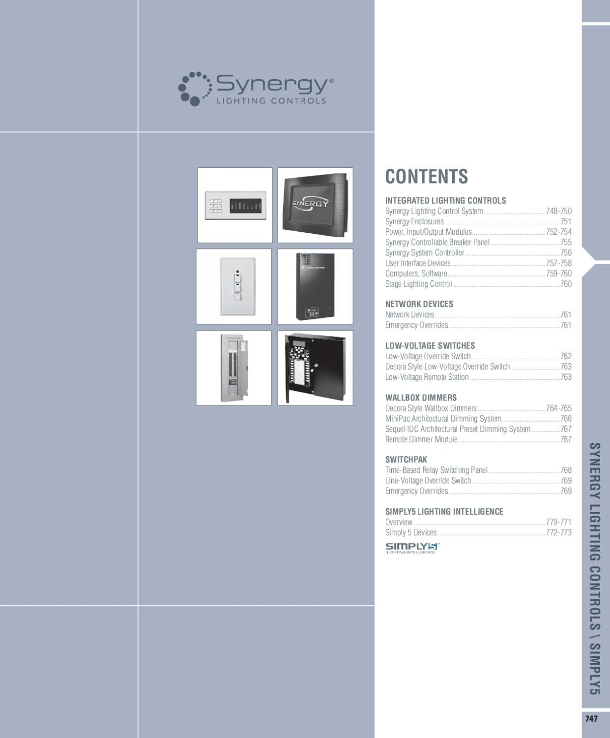 Synergy Lighting Controls Catalog By Alcon Issuu Mlc Light Controller Wiring Diagram