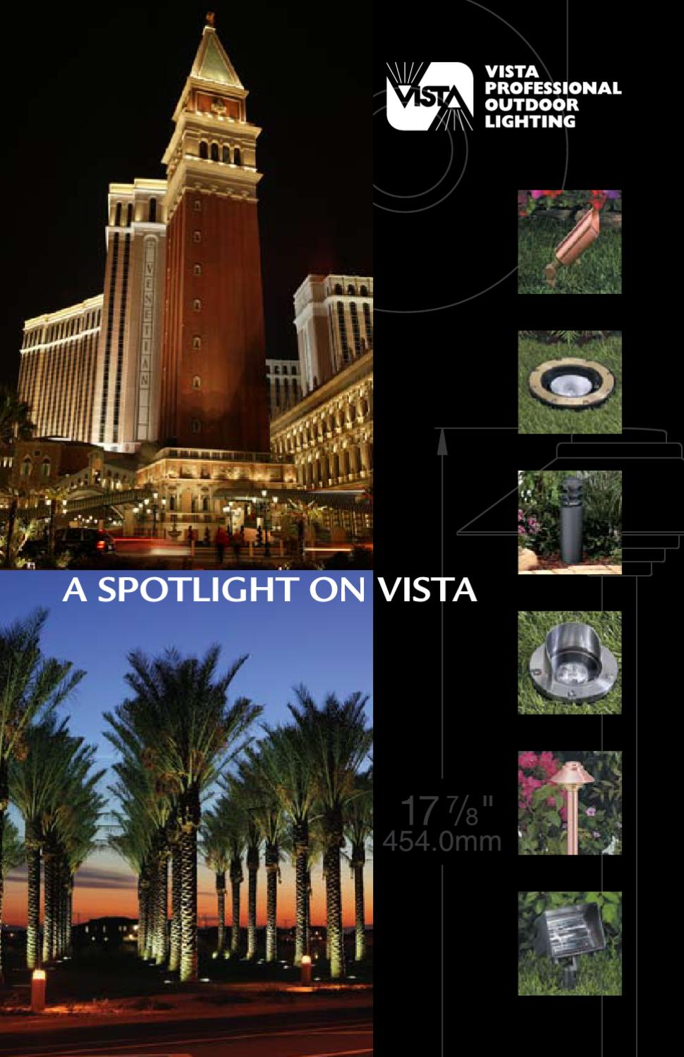 Vista Professional Outdoor Lighting Catalog By Alcon Lighting Issuu