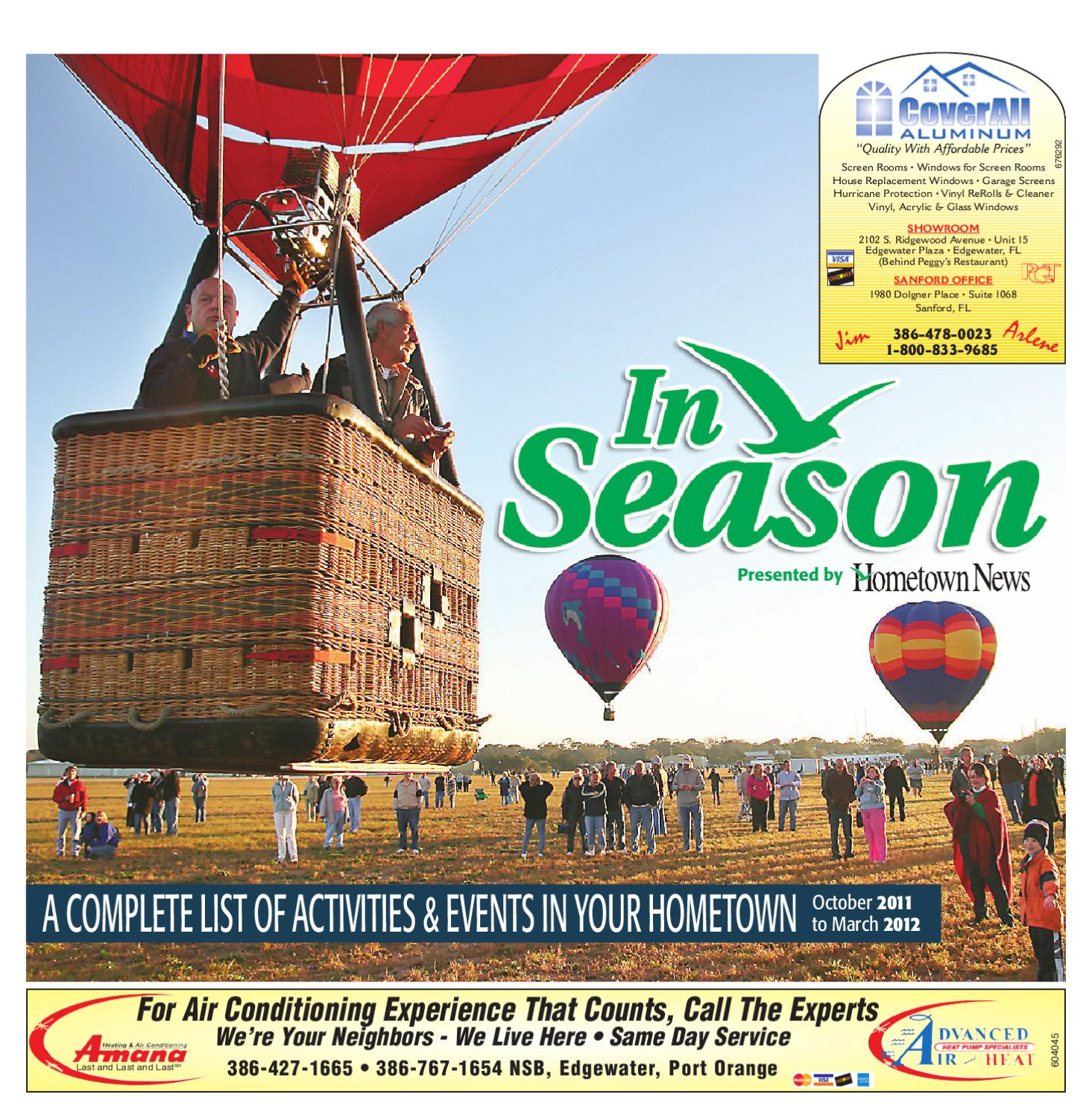 In Season 2011 Volusia By Hometown News Issuu