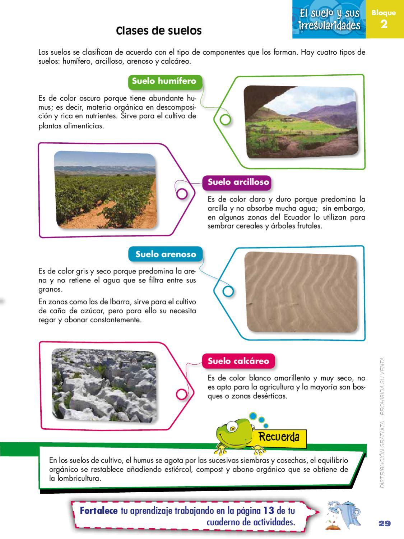 Naturales 4 by quito ecuador issuu - Tipos de suelos para casas ...