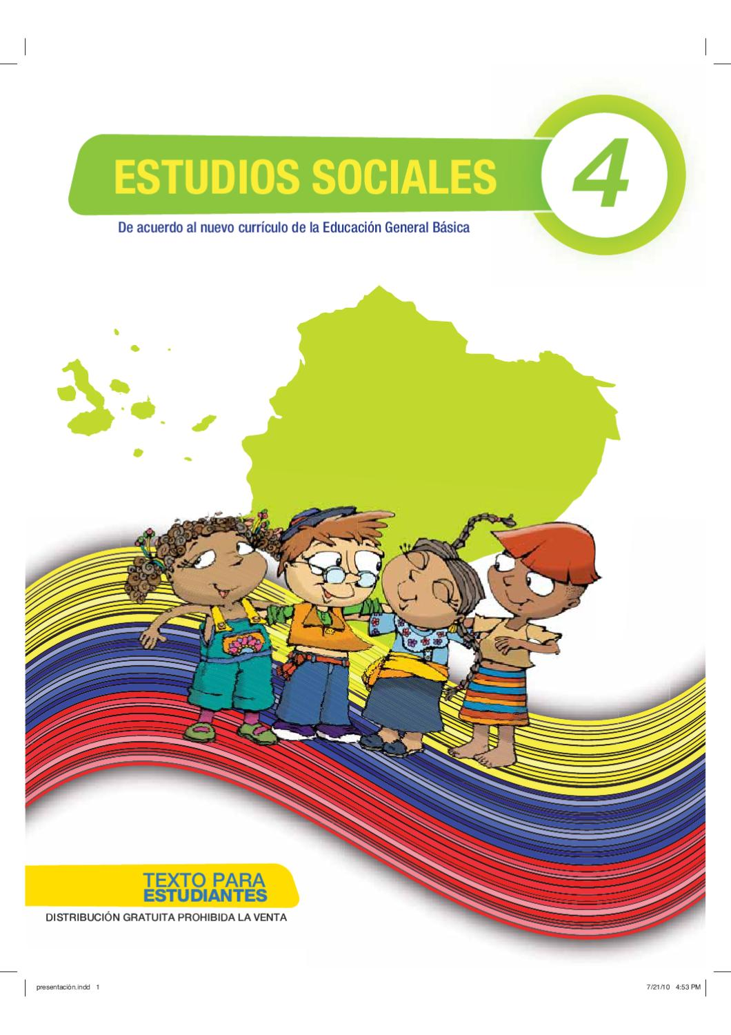 Sociales 4 by quito ecuador - issuu cfd9291d7364