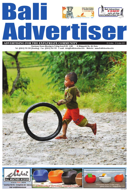 Bali Advertiser 05 September 2011 By Bali Advertiser Issuu