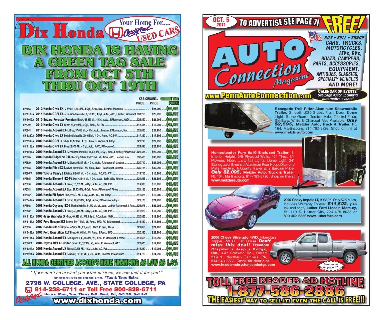93b7419f0bb7 10-05-11 Auto Connection Magazine by Auto Connection Magazine - issuu