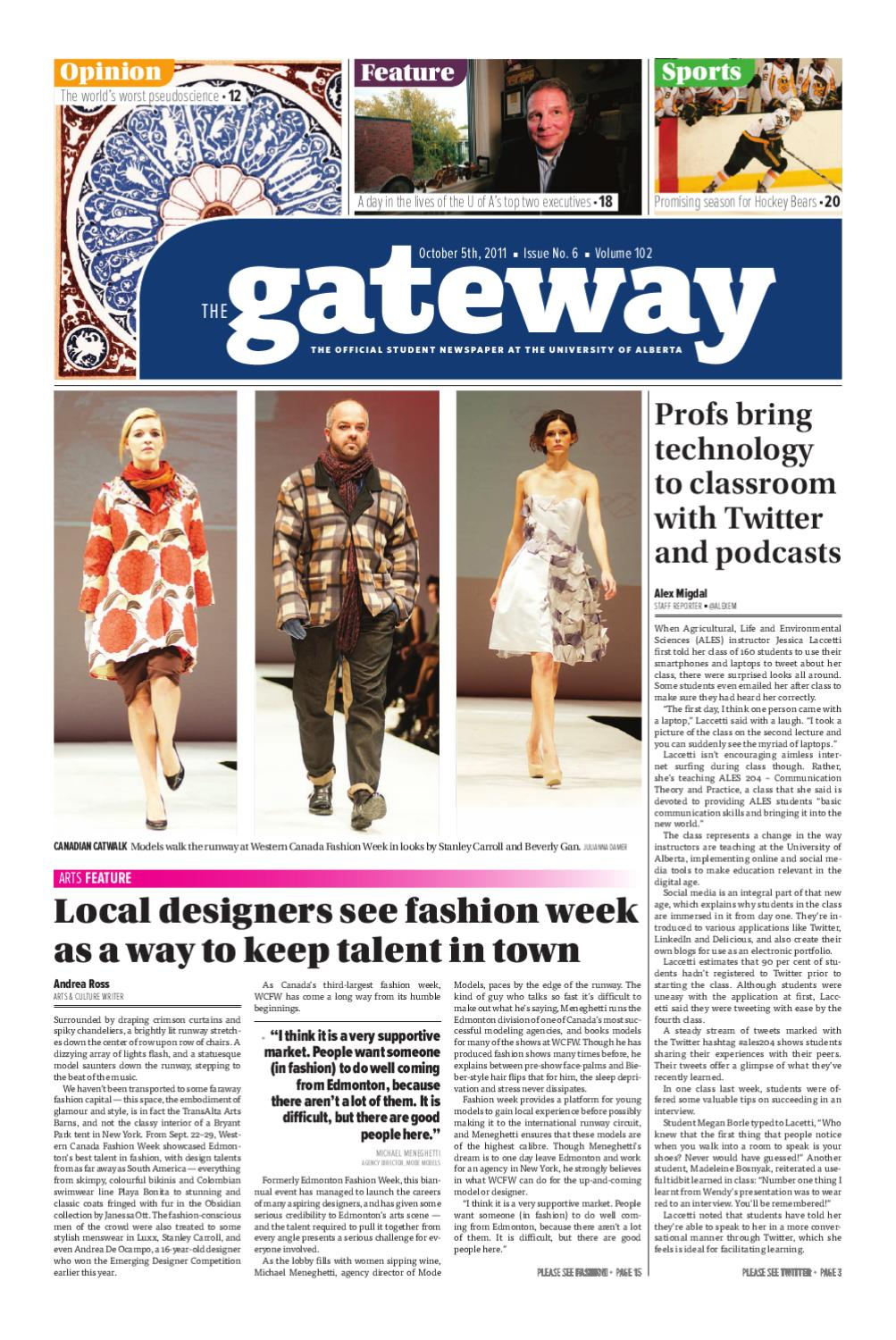 The Gateway: Volume 102, Issue 06 by The Gateway - issuu