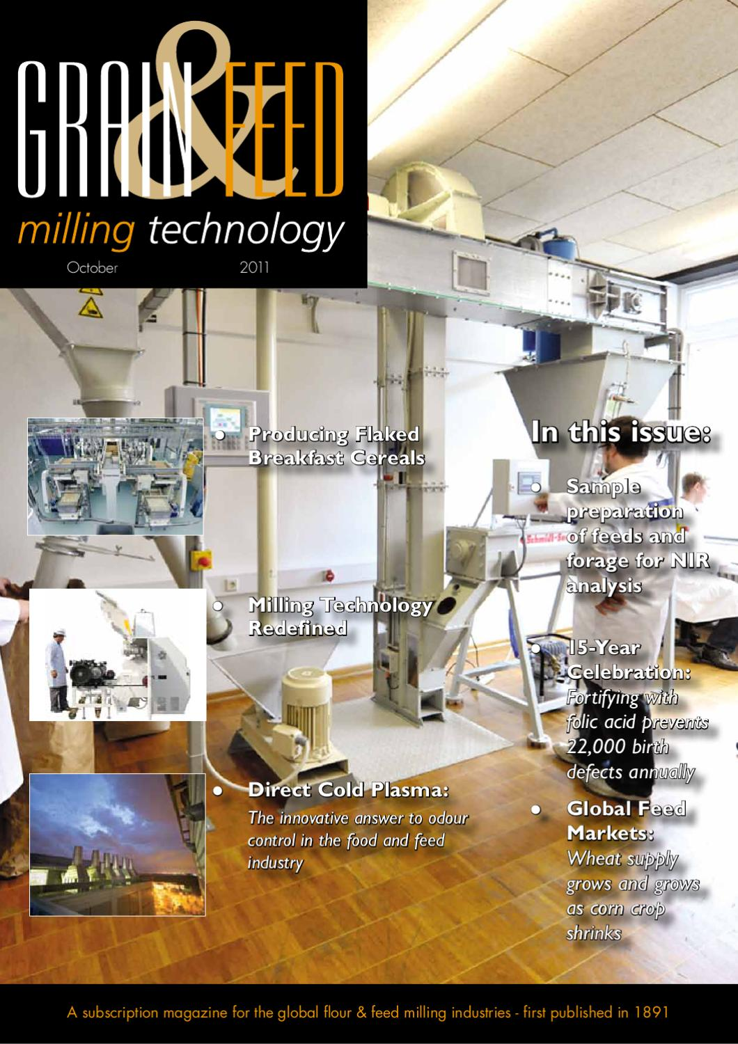 Sep Oct 11 Grain Feed Milling Technology By Perendale May Redefine Printed Circuit Board Manufacturing Recycling Publishers Issuu