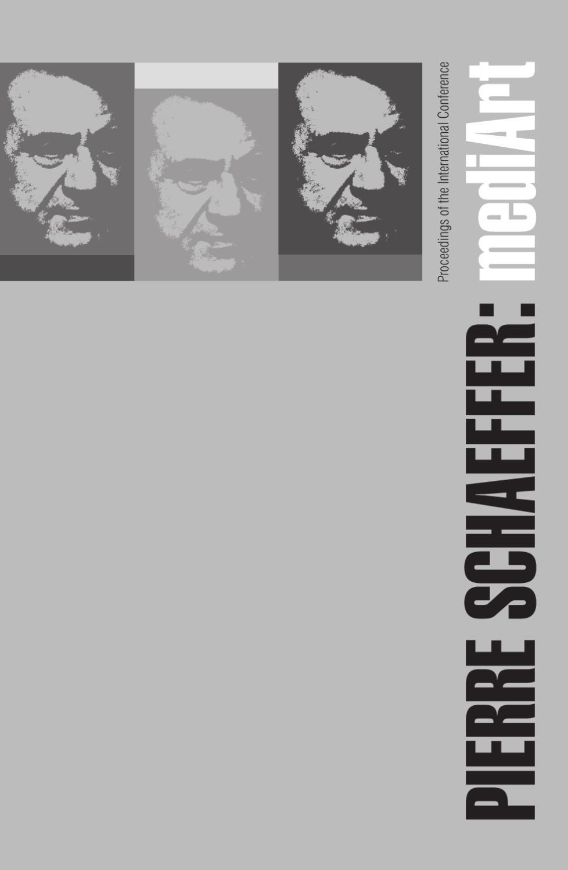 Pierre Schaeffer Mediart Zbornik By Mmsu Rijeka Issuu Brian Ellul Blog Airx New Controller