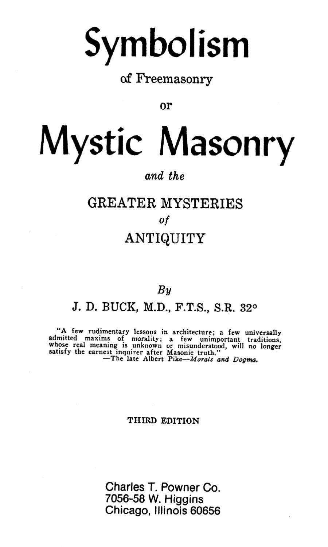 Buck the symbolism of freemasonry or mystic masonry by blac buck the symbolism of freemasonry or mystic masonry by blac jesus issuu biocorpaavc Gallery