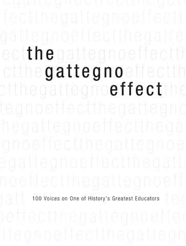 The Gattegno Effect (Black and White Version) by Educational ...
