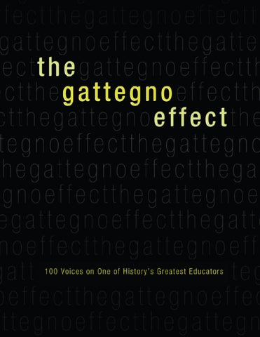 The Gattegno Effect by Educational Solutions Worldwide Inc. - issuu