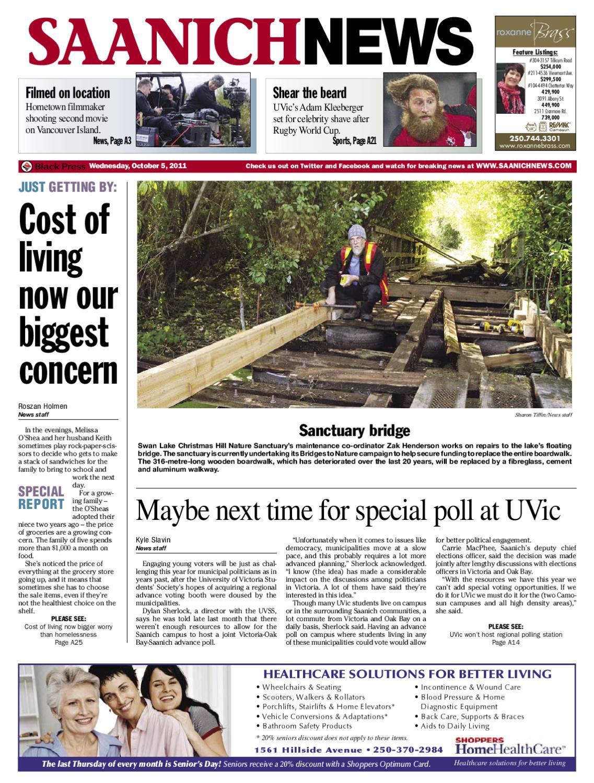24a709d5654 Oct 5, 2011 Saanich News by Saanich News - issuu