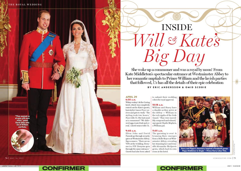 Us Weekly - Royal Wedding Coverage by Katy Balls - issuu