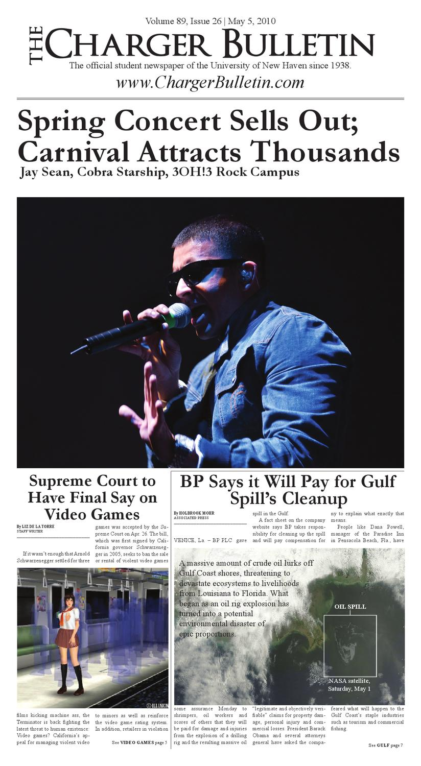 May 5 2010 by The Charger Bulletin - issuu