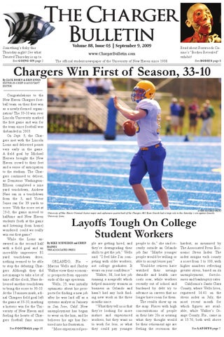 September 9 2009 by The Charger Bulletin - issuu b46fc3bd9