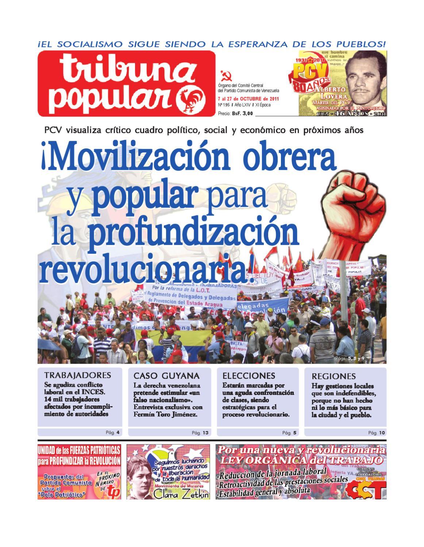 Tribuna Popular 195 by Tribuna Popular - issuu
