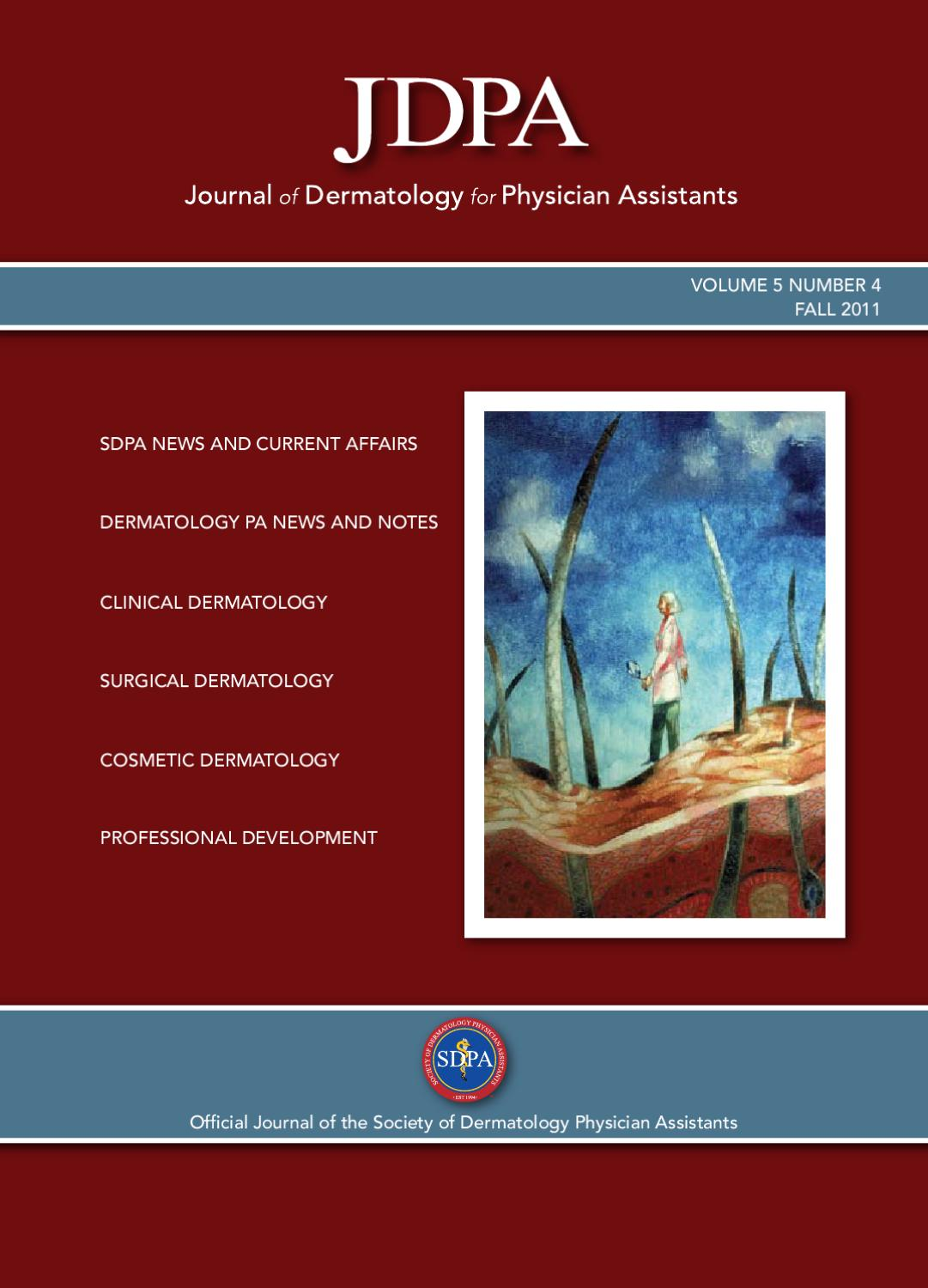 Fall 2011 Journal of Dermatology for Physician Assistants