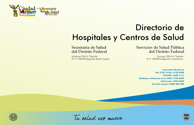 Directorio centros de salud m xico by ale nolasco issuu - Centro de salud aravaca ...