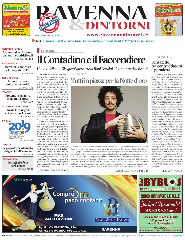 Supermercato Della Ceramica 2000 Srl.Ravenna Dintorni 458 06 10 2011 By Reclam Edizioni E