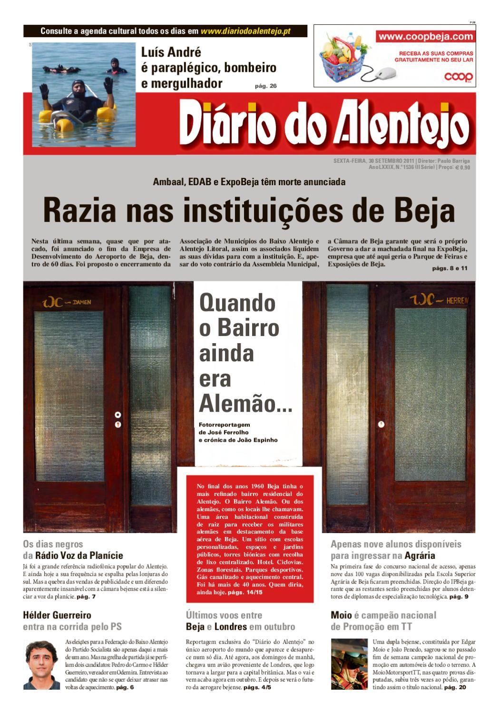 Ediçao n.º 1536 by Diário do Alentejo - issuu 867612fdd8c