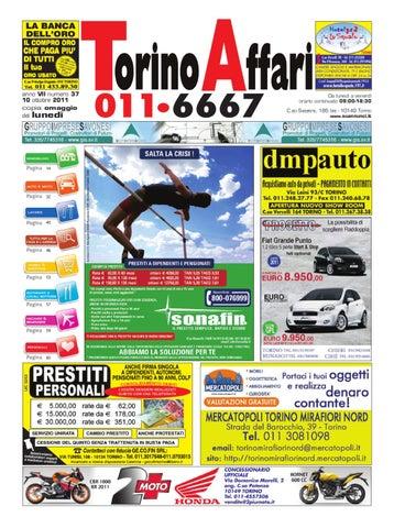 Torino Affari edizione del 06 ottobre 2011 by Giuseppe Contegreco ... 6cd1e83b783a