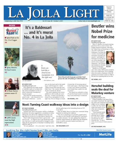 a74033e8e4ba 10-06-2011 La Jolla Light by MainStreet Media - issuu