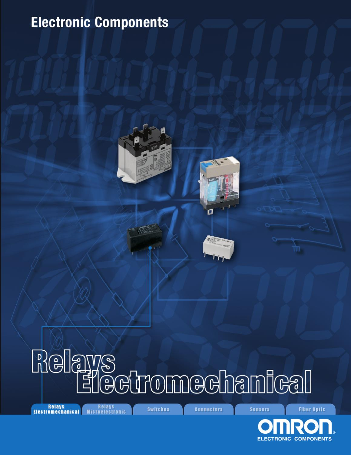Omron Relay Electromechanical Catalog By Electronic Expeditors Issuu Ac Dc Power Supply 60w 24vdc 25a Active Tech Electronics
