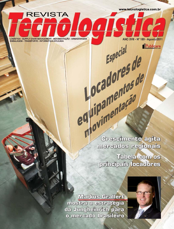 60a62c683a3 Revista Tecnologística - Ed. 188 Agosto 2011 by Publicare - issuu