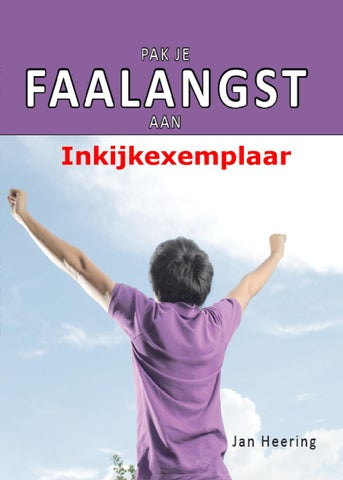 Pak je Faalangst aan inkijkexemplaar by Jan Heering - issuu